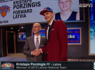Kristaps Porzingis selected high in NBA Draft