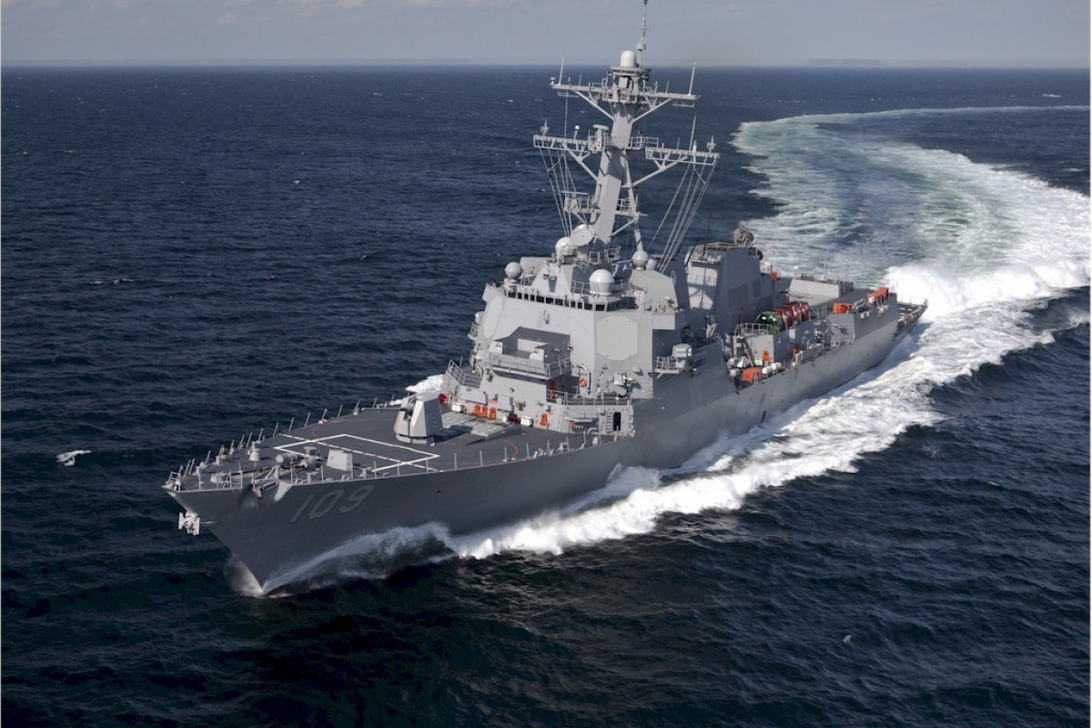 USS Jason Dunham headed to Riga