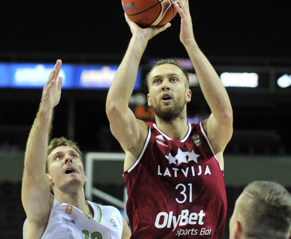 Latvian National Team starts EuroBasket exhibition game series with two wins