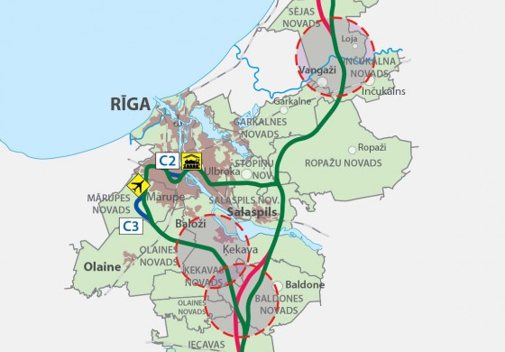 Rail Baltica: Three new alternative routes projected