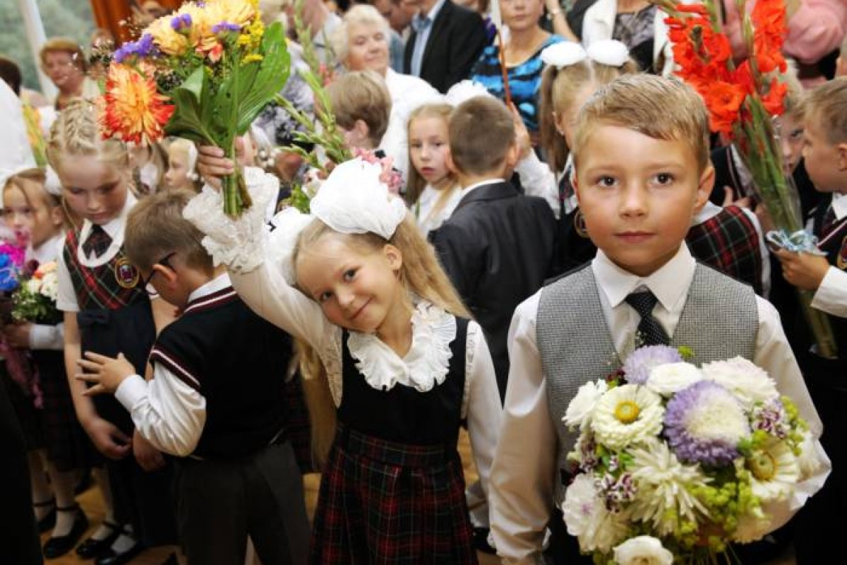 New Academic Year Started in Riga Schools