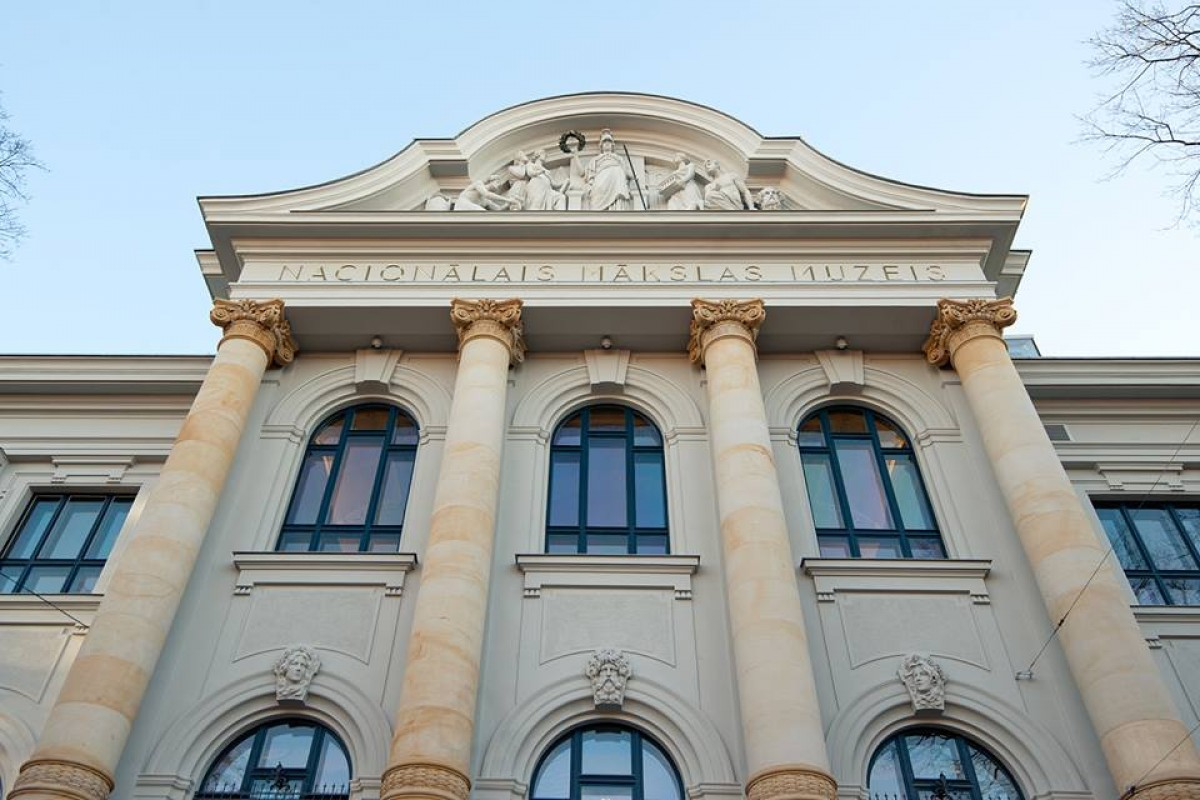Latvian National Museum of Art renovation finished