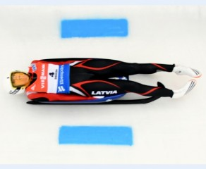 Eliza Cauce finishes 4th, Ulla Zirne 17th in Luge World Cup