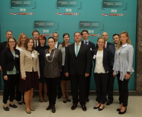Young diplomats from Baltic and Nordic countries meet in Riga