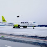 airBaltic CS300 landed