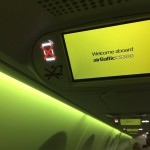 airBaltic CS300 mood lights
