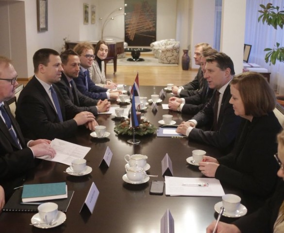Latvia & Estonia discuss collaboration