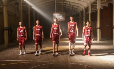 Latvia plays Lithuania in EuroBasket preparation