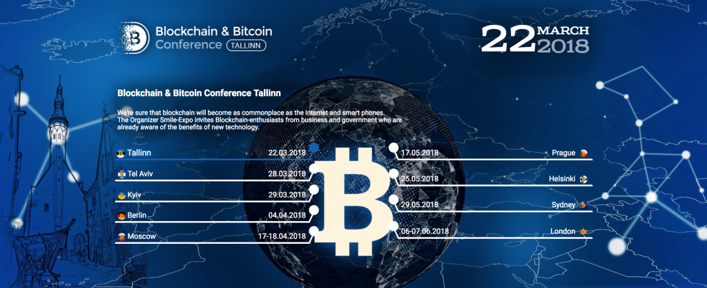 Blockchain & Bitcoin Conference Tallinn schedule