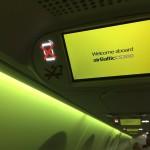 airBaltic CS300 mood lights