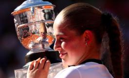 Ostapenko completes a Grand Slam fairytale