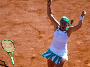Alona Ostapenko wins Roland Garros